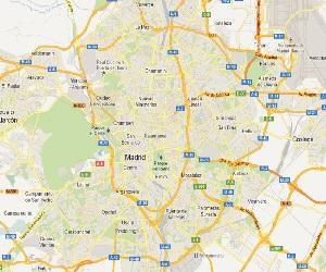 Mapa Comunidad De Madrid Por Codigos Postales.Mapa Codigo Postal Madrid Mapa